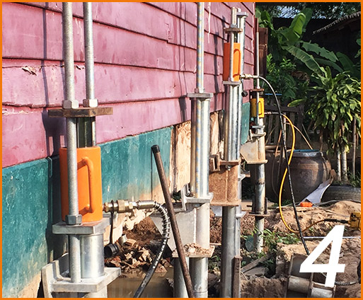 Micropiles for Structure Jacking4